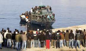 Resultado de imagen de refugiados llegados a italia