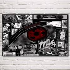Modular <b>Wall Art</b> Pictures Canvas HD Printed Anime Painting ...