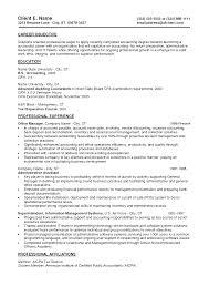 Resume Objectives Examples For Entry Level Positions Sample Resume Professional Experience And Educations Plus Entry Level
