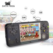 <b>Data Frog</b> Retro <b>Handheld Game</b> Console 3.0 Inch Console Built in ...