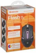 <b>Мышь Defender Flash</b> MB-600L Black USB — Отзывы