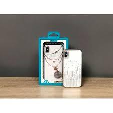 <b>Чехол Devia</b> со стразами и узорами для iPhone X купить в Самаре
