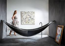 image bathtub decor: hammock bathtub another amenities for relaxing bathroom design amazing modern bathtub design that suspended