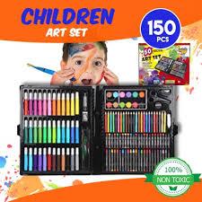 150pcs/set Markers Children Drawing Painting Art Water ... - Qoo10