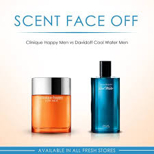 FRESH - #ScentFaceOff: Clinique <b>Happy Men</b> VS <b>Davidoff Cool</b> ...