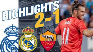 <b>Real</b> Madrid vs AS Roma 2-1 HIGHLIGHTS RESUMEN <b>2018</b> ...