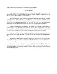 Sample of a Simple Persuasive Speech SlideShare