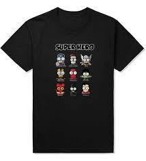 Comic <b>Super Hero</b> T <b>Shirt Superman Batman</b> Captain America the ...