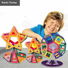 <b>Vavis Tovey</b> Children's DIY <b>magnetic piece</b> toy Boy and girl puzzle ...