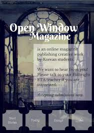 open window fulbright korea infusion open window