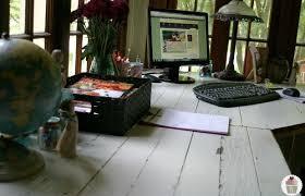 rustic office desk pottery barn style hoosier homemade build rustic office desk