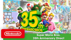 <b>Super Mario</b> Bros. 35th Anniversary Direct - YouTube