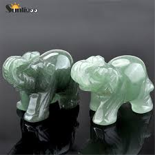 Sunligoo <b>Opal Opalite</b> Tiger eye Elephant <b>Natural stone carved</b> 1.5 ...