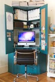 view in gallery clever idea for a desk with storage from an old armoire antique leather swivel desk chair