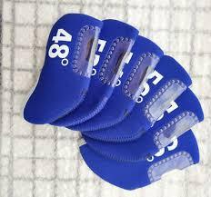 <b>6pcs</b> Blue <b>Wedge</b> Cover Neoprene Cover For <b>Golf Wedges</b> Club at ...