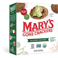 Jalapeño Crackers | FREE 1-3 Day Delivery - Mary's Gone Crackers