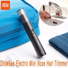 Xiaomi <b>ShowSee Electric Mini</b> Nose Hair Trimmer Portable Ear ...