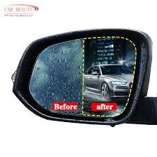 <b>2pcs</b> Rainproof <b>Car Rearview Mirror</b> Film Sticker Anti fog Protective ...