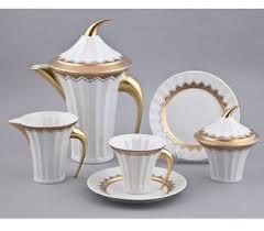 Купить Сервиз чайный, 15 предметов на 6 персон, белый ...