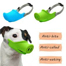 Training & Obedience Small Dog Chihuahua Anti-bark Muzzle ...
