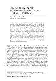 (PDF) <b>It's a Boy</b> Thing: The Role of the Internet in Young People's ...