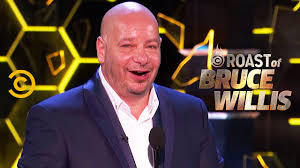 Jeff Ross Takes Bruce Willis to the Cleaners - Roast of Bruce Willis ...
