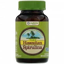 <b>Nutrex Hawaii</b>, <b>Pure Hawaiian Spirulina</b>, <b>500</b> mg, 200 Tablets ...