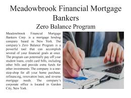 meadowbrook financial mortgage bankers zero balance program by meadowbrook financial mortgage bankers zero balance program by meadowbrook financial mortgage bankers issuu