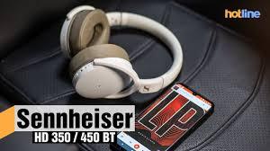<b>Sennheiser HD</b> 350 / 450 BT — обзор беспроводных <b>наушников</b> ...