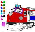 Онлайн раскраски паровозики из чаггингтона