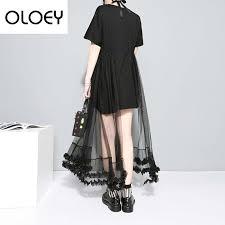 oloey new 2019 fashion dangle earring women geometric circle pearls long earrings simple big drop jewelry trendy gifts