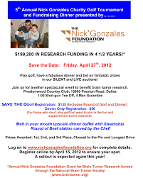 nick gonzales charity golf tour nt and fundraising dinner click here for event flyer