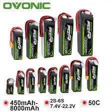 <b>2 Packs OVONIC 8000mAh</b> 4500mAh 5500mAh 3000mAh ...