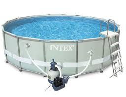 26324, <b>Intex</b>, Каркасный бассейн <b>Ultra</b> Frame 488х122см с ...