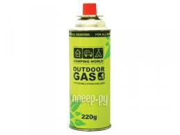 Купить <b>Газовый баллон Camping World</b> 220g по низкой цене в ...