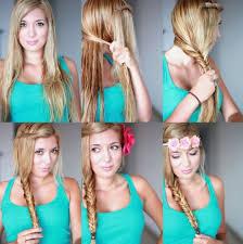 Resultado de imagen de tumblr peinado tutorial
