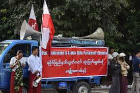photo essay kofi annan cordially greeted by protestors in sittwe the myanmar government to allow immediate and independent investigations into the crisis in rakhine but don t tell that to any of these protestors