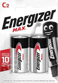 Купить <b>Батарейки Energizer</b> Max С/LR14 <b>2шт</b> с доставкой на дом ...