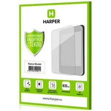<b>Защитное стекло</b> на экран <b>Harper</b> сверхпрочное толщина 0,33мм ...