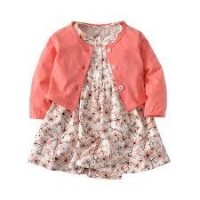 Infant <b>Baby Girls</b> Clothes Toddler Dresses Babe Girl Cardigan ...