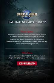 <b>Halloween Horror</b> Nights - Universal Studios Singapore