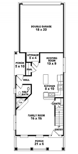 Story Traditional Narrow Lot House Plan   House Plans    House Plan Details Need Help  Call us      PLAN
