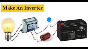 Simple Homemade Inverter <b>12V</b> to 220V || <b>DC to AC</b> Converter DIY ...