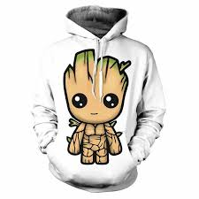 <b>Galaxy</b> Guardian Groot <b>мужская</b> толстовка с капюшоном с 3D ...