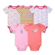Mother Nest Newborn <b>Baby Bodysuit 100</b>% <b>Cotton</b> 5 Pieces/lot <b>Baby</b> ...