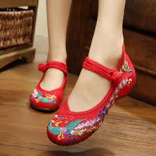 2019 <b>New Arrival 2015 Women'S</b> Flat Shoes Old Peking Mary Jane ...