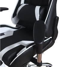 Игровое компьютерное <b>кресло</b> MFG-<b>6001</b> black white - <b>Меб</b>-<b>фф</b>