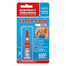 <b>Супер</b>-<b>клей Контакт Гель</b>, <b>3</b> г в интернет-магазине mobicent.ru