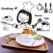 W-<b>Kitchen</b> stickers decorative stickers <b>happy</b> chick green <b>creative</b> ...