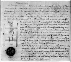 jefferson vs franklin revolutionary philosophers edsitement thomas jefferson s drawing of a macaroni machine and instructions for making pasta ca